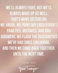 Sister Quote Classy 48 Sister Quotes That PERFECTLY Sum Up Your Relationship YourTango