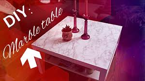 furniture contact paper. DIY: How To Freshen Up A Old Table With Marble Contact Paper (Tutorial) - YouTube Furniture