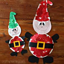 Paper Plate Christmas Elf Craft  Kidsu0027 Crafts  FirstPalettecomChristmas Paper Plate Crafts
