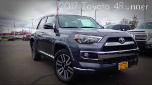 2017 Toyota 4Runner Limited 4.0 L V6 Review - YouTube