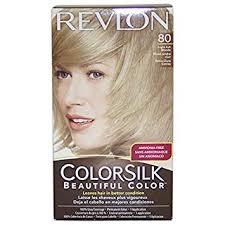 Revlon Light Ash Brown Hair Color Chart Revlon Colorsilk Beautiful Color Light Ash Blonde 80