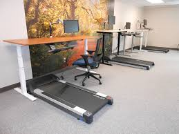 standing desk treadmill picture