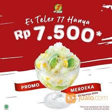 Ingin buat es teler di rumah / keluarga? Es Teler 77 Dengan Harga Spesial Rp 7 500 Saja Jakarta Selatan Jualo