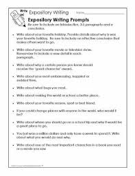 expository writing prompts for the love of learning  i would use these writing prompts to have students practice expository writing i would write at the top of the sheet write to explain