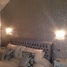 silver glitter wall glitterwall