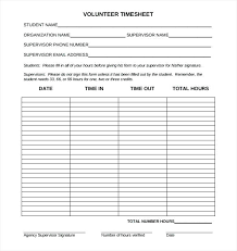 Sign Up Volunteers For A Cause Volunteer Log Sheet Template ...
