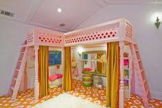 Cool bunk bed for girls Dream Girl Playroom Design Pictures Remodel Decor And Ideas Jordyn Esser Cool Loft Beds Pinterest 125 Best Cool Loft Beds Images