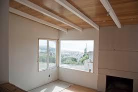 Sloped Ceiling Living Room Living On The Ceiling 930 Stratford