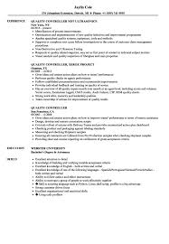 Stocker Job Description For Resume Controller Resume Examples Jds Quality Sample Stock Job 80