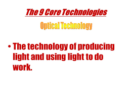 9 Core Technologies What Is Technology Technology Is The Application Of