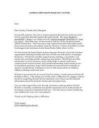 Charity Sponsorship Letter Template Business Donation Letter