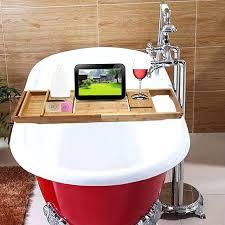 bath tub caddy bamboo handcrafted bath tray bathroom shelves bathtub bath rack bathroom storage shelf holder bath tub caddy