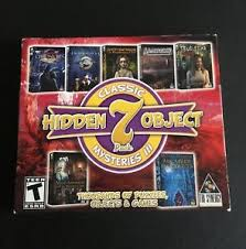 Download hundreds free full version games for pc. Classic Hidden Object Mysteries Iii 7 Pack For Pc Hidden Objects Games Ebay