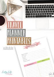 Free Travel Planner Free Travel Planner Printable Living Life As Moms