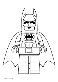 Small Picture Coloring page for kids LEGO BATMAN from The LEGO BATMAN Movie