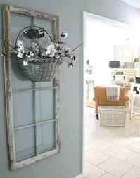 wood door wall decor recycling old wooden doors vintage window frames wall hanging flower basket creative wood door wall decor