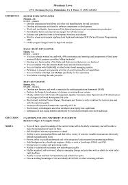 Ruby Developer Resume Samples Velvet Jobs