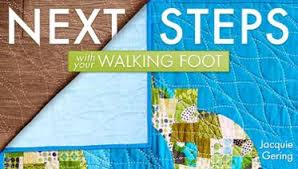 Creative Quilting With Your Walking Foot Class | Craftsy & Next Steps With Your Walking Foot Adamdwight.com