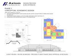 Schematic Design Phase Axiom Architecture Inc Phase 1 Conceptual Schematic Design