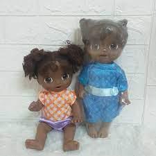 Búp bê Mỹ Hasbro Baby Alive 32 (Thanh lý tồn kho, lỗi sơn, trầy, dính mực,  tóc hơi thưa ,kèm đồ ngẫu nhiên)
