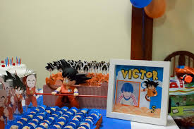 Dragon Ball Z Decorations Dragon Ball Birthday Party Decoration dragon ball party 8