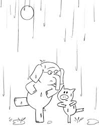 Small Picture Elephant And Piggie Coloring Page Free Coloring Pages on Art