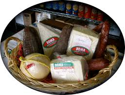 meat cheese gift basket