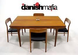 Danish Modern Dining Table Mid Century Danish Modern Teak Johannes Dining Table Danish Mafia