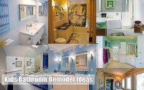 Kids Bathroom Remodel Ideas KidFriendly Bathrooms Idea - Kids bathroom remodel