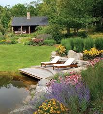 Terrace and Garden: Garden Pond And Deck Ideas - Outdoor Deck