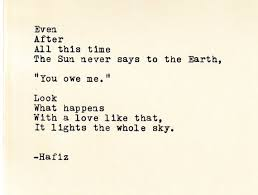 Hafiz Quotes