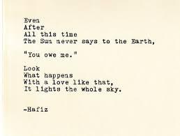 Hafiz Quotes Delectable Hafiz Quote Made On TypewriterTypewriter Quote Famous Etsy