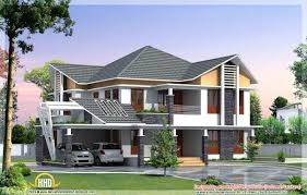 Beautiful Kerala Style House Elevations Home Design