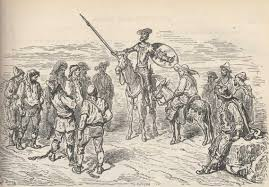 don quixote by miguel de cervantes chapter xxii of the dom don quixote conferred on several unfortunates who against their will were being carried where they had no wish to go