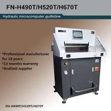 Hot sale H490T Hydraulic Paper Cutter, View Paper Cutter, <b>FRONT</b> ...