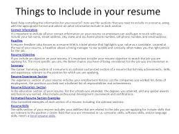 Resume Writing Pleresumes A Sampleresume2 Htm Ppt Download