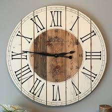 rustic wall clocks from bed bath beyond in clock decor 10 and
