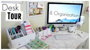 Desk Organization Desk Tour Organization Shannon Sullivan Youtube
