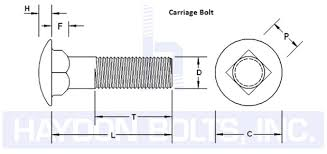 Carriage Bolt Sizes Chart Lag Carriage Bolts Haydon Boltshaydon Bolts