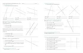 parallel and perpendicular lines worksheet line segments rays geometry worksheets ideas graph perpendic