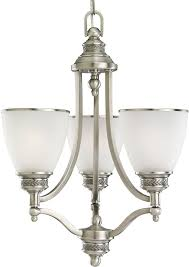 seagull 31349en 965 laurel leaf antique brushed nickel led mini hanging chandelier loading zoom