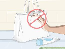 image titled clean a white leather purse step 9