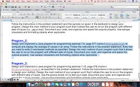 How To Design A Java Program Solved Design And Implement A Java Program For Programmin