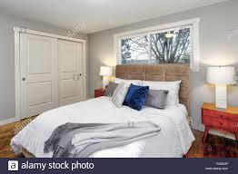 Schlafzimmer Eingerichtet Stockfotos Schlafzimmer Eingerichtet