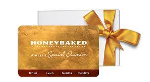 honeybaked gift card balance photo 1