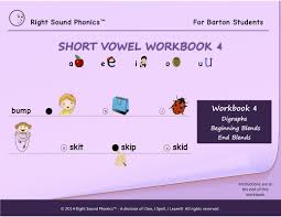 Esl phonics & phonetics worksheets for kids download esl kids worksheets below, designed to teach spelling, phonics contains 41 pages of long and short vowel practice, vowel reading exercises through text mazes. Sight Words Short Vowel Workbooks For Barton Students I See I Spell I Learn Llc Early Literacy Reading Spelling Program
