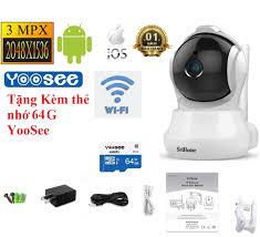 TẶNG THẺ NHỚ 64G ] Camera IP Wifi giám sát, quan sát không dây SriHome Full  HD 1080P SH025