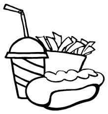 french fries clipart black and white. Wonderful Clipart For French Fries Clipart Black And White I