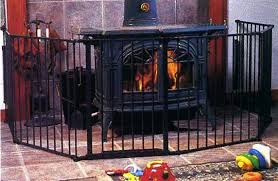 wood stove gate fireplace and safety gate diy wood stove safety gate