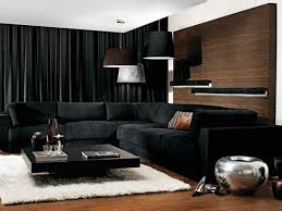 Black living room curtains Eyelet Architecture Art Designs 30 Stylish Interior Designs With Black Curtains